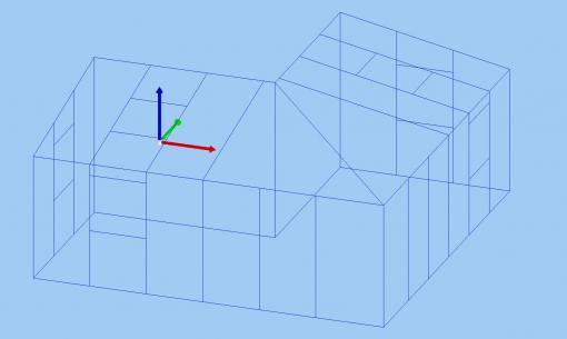 c-mol Fensterbausoftware - Wintergarten - Gitternetz