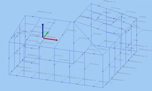 c-mol Fensterbausoftware - Wintergarten - Kanteneigenschaften